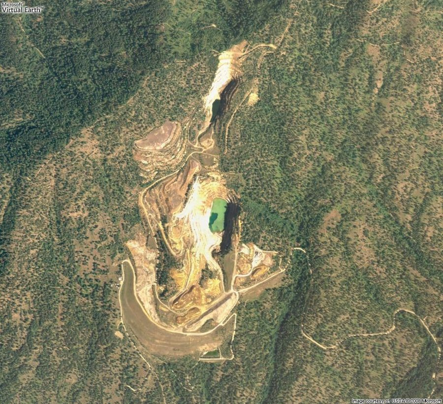 midnite mine air photo