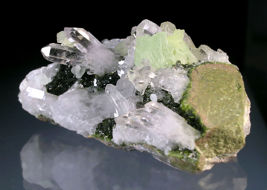 prehnite, quartz, epidote for sale