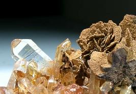 goethite, quartz for sale
